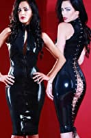 New Sexy Tight Back Allure Dress - PVC Latex Wet Fetish Style