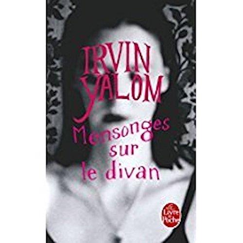 Book's Cover of Mensonges sur le divan