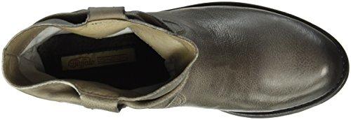 Buffalo London Damen Es 30492 Singapura Kurzschaft Stiefel Grau (CINZA 01)
