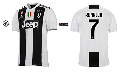 Trikot Herren Juventus 2018-2019 Home UCL - Ronaldo 7 (S)