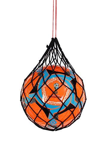 powerfield formación a mano calidad probada–Balón de fútbol oficial tamaño 4para práctica, naranja