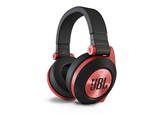 E50 BT Stereo Bluetooth Imbottite, Morbide, Ricaricabili, Wireless, Compatibili con Prestazioni Purebass, Compatibili con Dispositivi Apple iOS e Android, Rosso