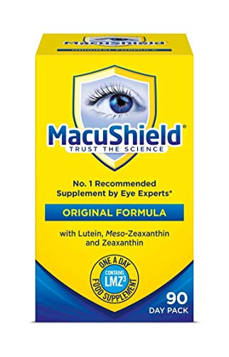 THREE PACKS of Macushield 90 Capsules Test