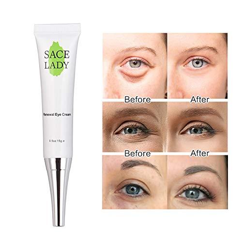 Bobora Anti-Aging Augencreme Feuchtigkeitsspendendes Augenserum für geschwollene Augen Augencreme für Linien und Falten und Augenringe Entfernen Sie Eyes Bags -