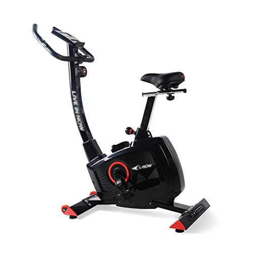 Bici di Esercitazione Magnetica di Sport della Bicicletta del Pedale dell'interno Domestico della Bici di filatura della Bici Ellittiche (Color : Black, Size : 96 * 45 * 125cm)