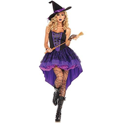 Voluptuous Vampire Wizard Hexe Frauen Halloween Kostüm Rollenspiel -