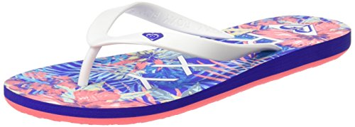 Roxy Tahiti V J Sndl, Sandalias Flip-Flop para Mujer, Azul (Blue Jay / White), 39 EU