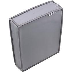 Pandaren® prueba de polvo Funda de neopreno cubierta protectores vertical para Xbox One S (gris)