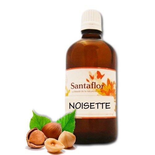 Santaflor - Huile végétale Noisette BIO100 ml Spray