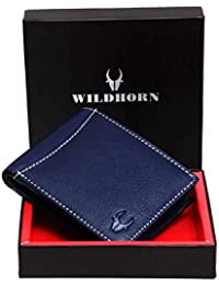 WildHorn Blue Men's Wallet