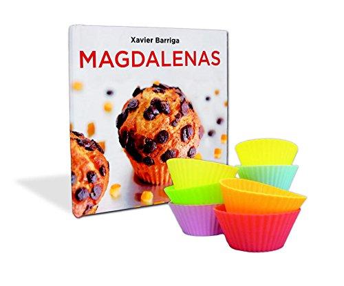 La caja de magdalenas de Xavier Barriga: (Incluye nueve moldes de silicona) (Sabores) por Xavier Barriga