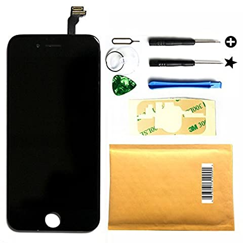 LT0220 Black iPhone 6 (4.7) LCD Display Screen +Touch Digitizer Assembly Replacement Set with Tool