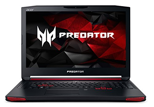 Acer Predator 17 (G9-791-78G4) 43,94 cm (17,3 Zoll Ultra HD IPS) Laptop (Intel Core i7 -6700HQ, 32GB DDR4-RAM, 512GB SSD + 2TB HDD, NVIDIA GeForce GTX 980M,Blu-Ray, Windows 10 Home) schwarz (Black Titan Gtx)