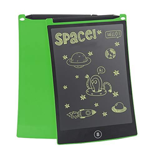 "conecto CC50502 LCD Schreibtafel digital Writing Tablet Grafiktablet Schreib-/Malbrett 8,5"", inkl. Magnet für Kühlschrank, grün"