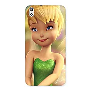 Enticing Tin Cure Girl Back Case Cover for HTC Desire 816