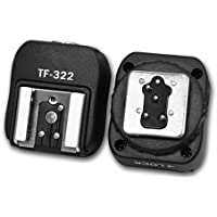 Kaavie i-TTL Flash Hot Sync Adaptateur chaussures avec Port PC Sync dédié supplémentaire pour Nikon DSLR & Blitz