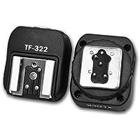Kaavie - i-TTL Adattatore Flash Hot Shoe Pc Syncper Nikon DSLR additional dedicated & Blitz