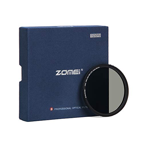 ZOMEi 62mm Premium CPL Pol Filter für eine hohe Bildqualität - Polfilter für eine klare Entspiegelung Ihrer Aufnahmen - Zirkularer Polarisationsfilter