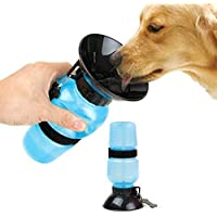 Latiq Mart Dog Travel Water Bottle Sipper Portable Aqua Dog Travel Bowl 20-oz Dog Bottle Auto Dog Mug/Drinking Cup for…