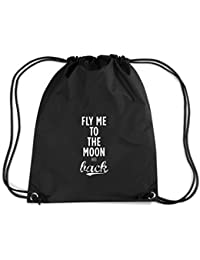 T-Shirtshock - Mochila Budget Gymsac CIT0082 fly me to the moon