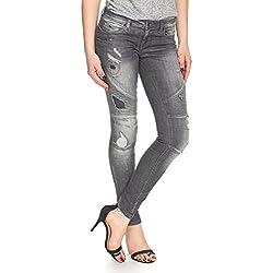 ONLY Women's Skinny Jeans (15104787_27_Grey)