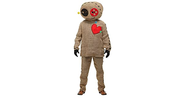 Adult Voodoo Costumes Doll Costume Medium Fancy Fun Dress Burlap QBoWCxder