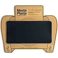 Black MastaPlasta Self-Adhesive Leather Repair Patches. Choose size/design. First-aid for sofas, car seats, handbags, jackets etc. (BLACK PLAIN 20cmx10cm)
