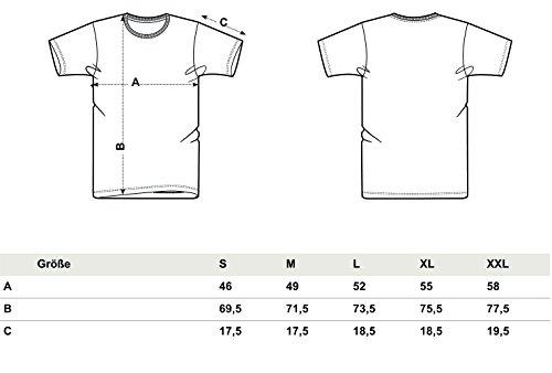 YTWOO Herren Rundhals T-Shirt Aus 100% Bio-Baumwolle- Figurbetontes (Fitted) Bio Tshirt in Diversen Farben Schwarz und Weiß, Bio Shirt, Herren Bio Tshirt, Herren Tshirt Bio Dark Heather Grey