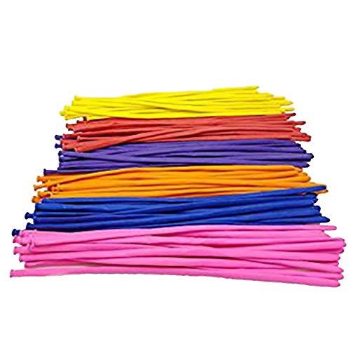Hemore 100pz palloncini colorati Twisting Balloons Magic Long Animal balloon kit per decorazione party assortiti colore
