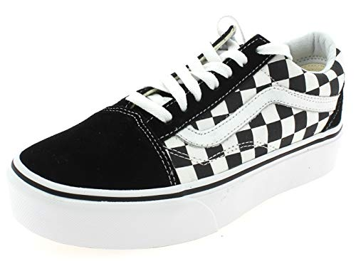 Vans Old Skool Platform Scarpa Checkerboard