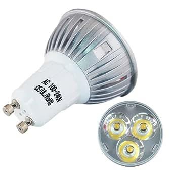 8x gu10 plug energy saving 4watts spotlights led light bulbs cool white diy tools. Black Bedroom Furniture Sets. Home Design Ideas