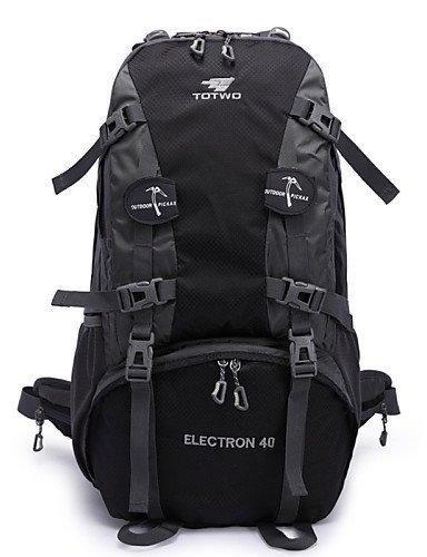 GXS Professional Outdoor Sport Reiten Camping wasserabweisend Multifunktions Schultern Bergsteigen Taschen 40L grün - grün