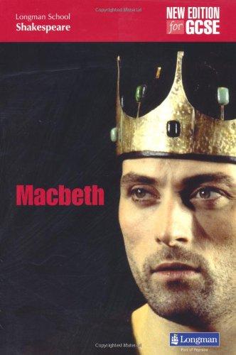 Macbeth (LONGMAN SCHOOL SHAKESPEARE) por W. Shakespeare