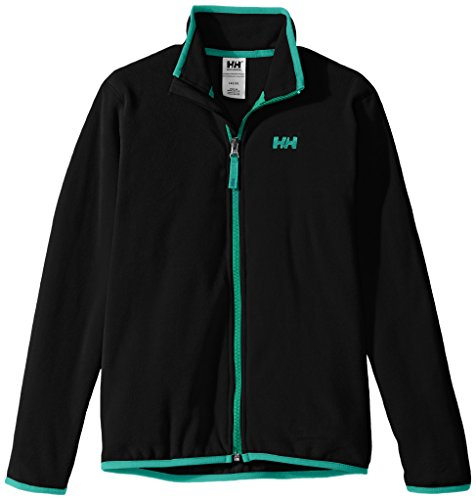 Helly Hansen Jr Daybreaker Fleece, Giacca Unisex Bambino, Nero (Black), 152/12