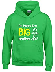 Direct 23 Ltd Personalised I'm The Big Brother Boys Hoodie