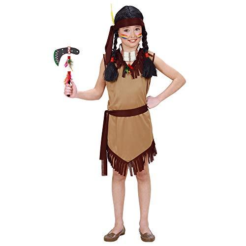 Costume da squaw 'indiana', taglia 8/10 anni