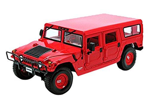 maisto-36858r-hummer-h1-station-wagon-echelle-1-18