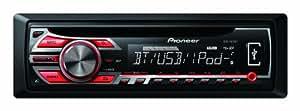 Pioneer DEH-4500BT Autoradios 200 W Bluetooth, En Façade