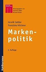 Markenpolitik (Kohlhammer Edition Marketing)