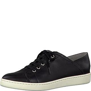 Tamaris Schuhe 1-1-23611-28 bequeme Damen Schnürer, Schnürschuhe, Halbschuhe, Sommerschuhe für modebewusste Frau, schwarz (BLACK), EU 36