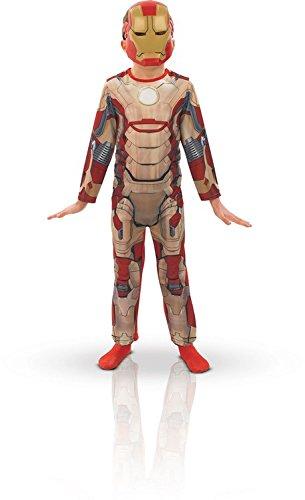 Iron Kostüm Man 3 (Iron Man 3 Classic - Kinder-KostŸm - Large -)