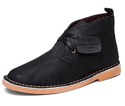 Fangsto Chukka Boots, Desert boots garçon homme - Noir - noir,