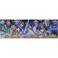 Star Wars Original Trilogy 3 in 1 Panoramic Puzzle Set 211 Total Pieces by Cardinal Industries