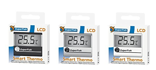 SuperFish Smart Aquarium LCD Thermometer, Farbe:schwarz