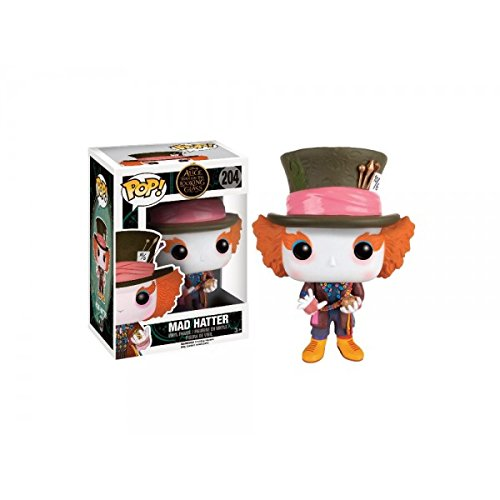Funko 9381 – Alice Through the Looking Glass, Pop Vinyl Figure 204 Mad Hatter Limited (Mad Disney Hatter)