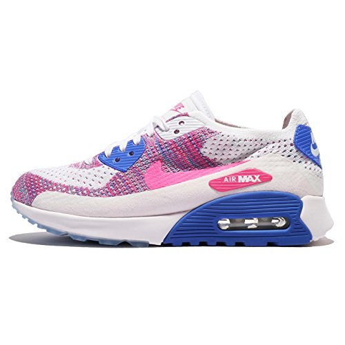 NIKE W AIR MAX 90 ULTRA 2.0 FLYKNIT White/Pink