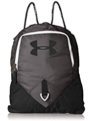 Under Armour UA Undeniable Sackpack Bolsa de Equipaje, Unisex Adulto, Gris (Graphite/Black/White 040), Talla única