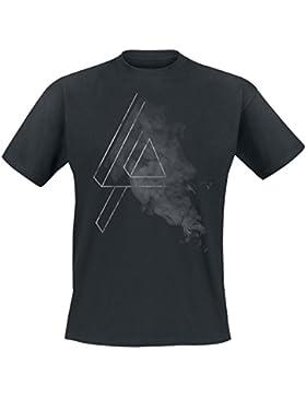 Linkin Park Smoke Logo T-Shirt schwarz
