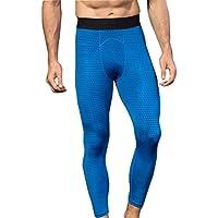Logobeing Leggings Hombre - 3D Impresión Siete Minutos Pantalones de Correr Pantalón para Hombre Chándal Slim Joggings