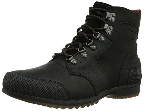 Sorel Herren Ankeny Mid Hiker Boots, schwarz/braun (tobacco), Größe: 40 1/2 -